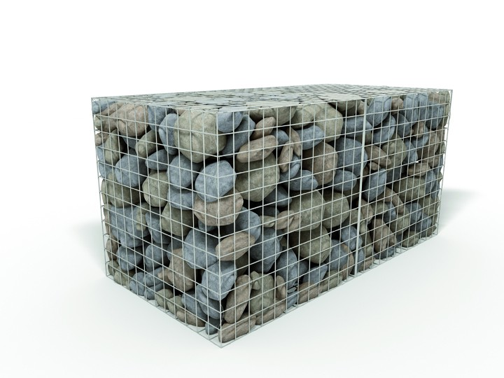 Mm pvc coated wire gabions gabion baskets accessories